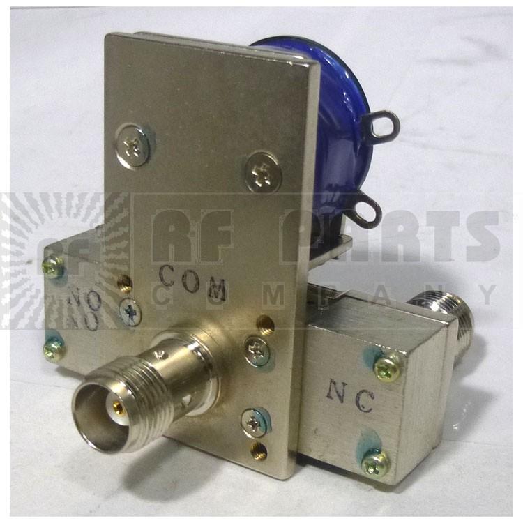 CX560D Relay, coaxial spdt tnc