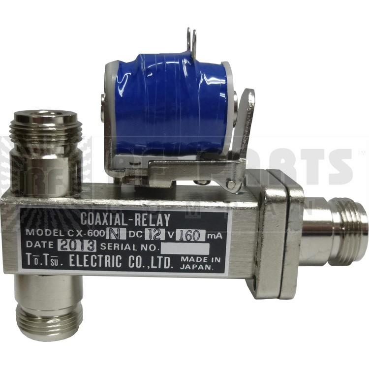 CX600N-12 Coaxial Relay, 12 volt, Tohtsu