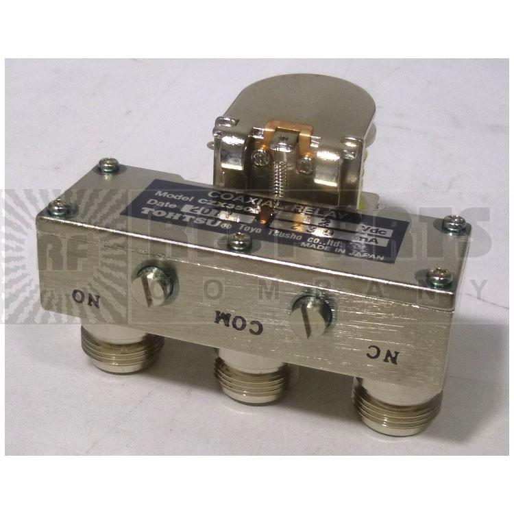 CZX3500-12 Coax Relay, 12 volt  spdt f(3-n)
