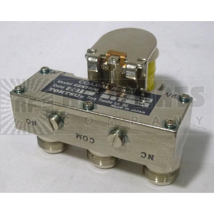 CZX3500-24 Coax Relay, spdt f(3-n) 24 volt