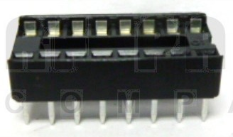 DIP16  IC Socket, 16 pin