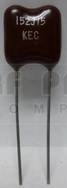 DM30-1500  Mica Capacitor, 1500pf  500v, KEC
