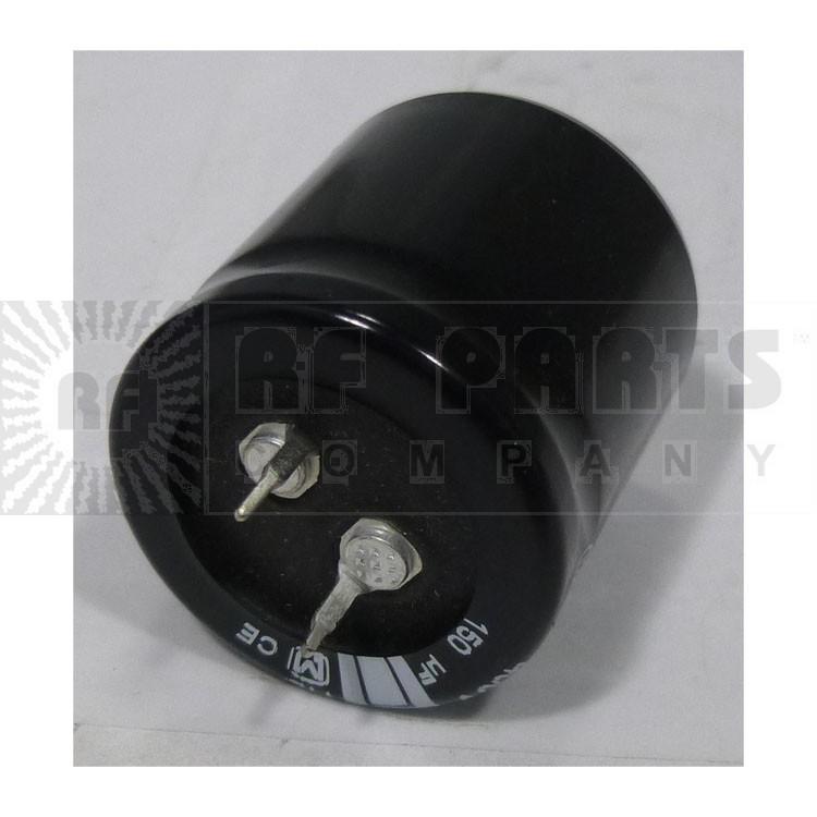 ECOS2WB151DA Capacitor, 150 uf/ 450v, Snaplock, 105 centigrade, Matsushita