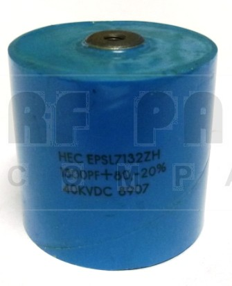 EPSL7132ZH Doorknob Capacitor, 1300pf 40kv, High Energy (Clean Used)