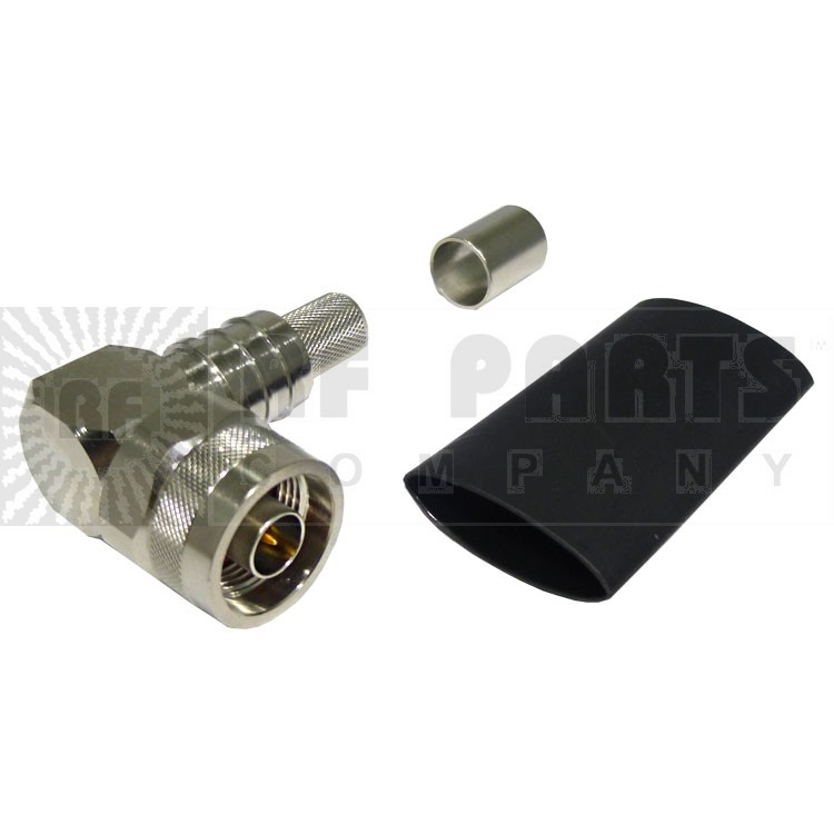 EZ400NMHRA-X Connector, Right Angle Type-N Male Crimp LMR400, TIMES