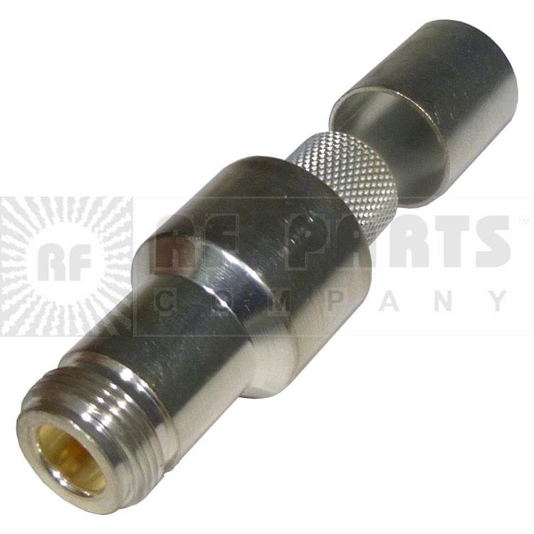 EZ600NF  Type-N Female EZ connector, LMR600, TIMES