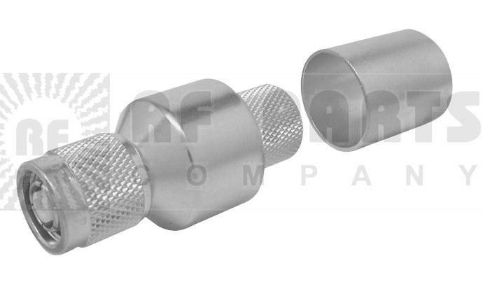 EZ600TMRP Reverse Polarity TNC Male Crimp Connector, Times