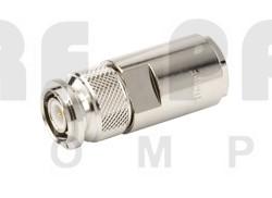 F1PTM-HF TNC Male Connector, FSJ1-50 (Good to 18 GHz)