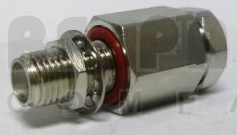 F1TSF-BH SMA Female Bulkhead Connector, FSJ1-50A