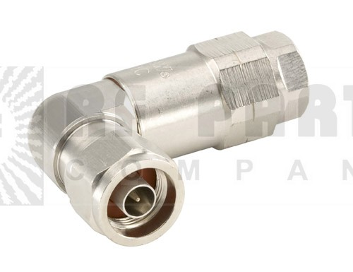 F4NR-HC Type-N Male Right Angle Connector, FSJ4-50B