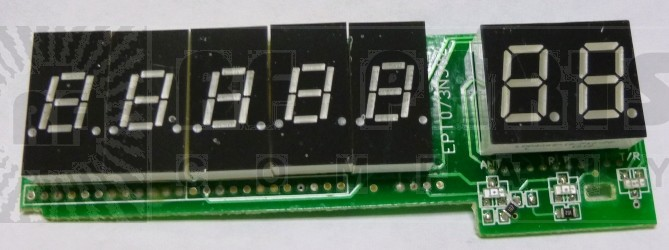 GALXDISPLAYPCB959  Complete Display Board with LED's DX959