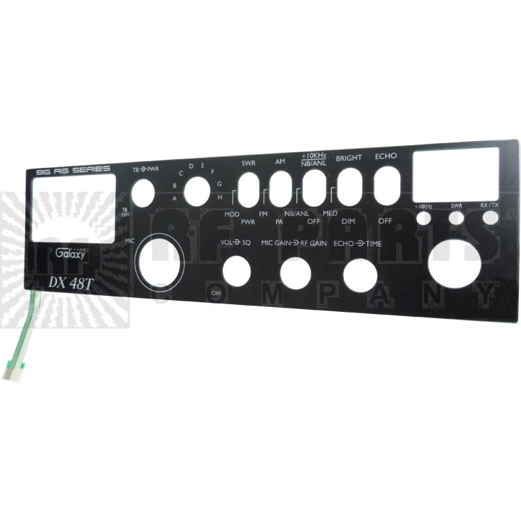GALXFACEPL-48 Replacement Faceplate DX48T