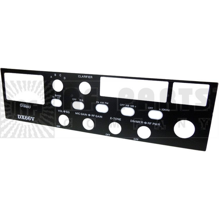 GALXFACEPL-66 Replacement Faceplate DX66