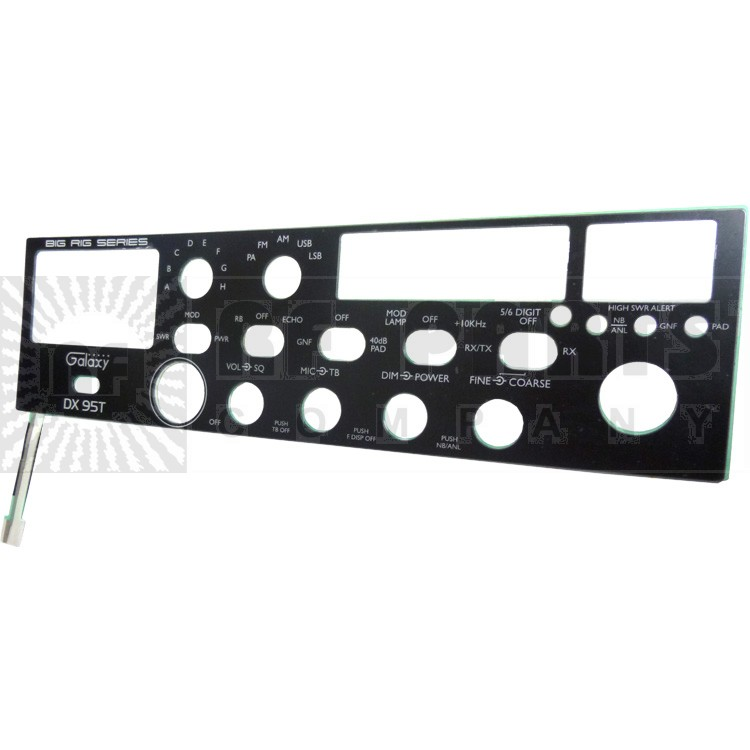 GALXFACEPL-95T Replacement Faceplate DX95T