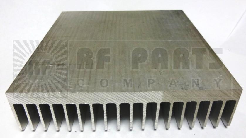 "HS100-6 Heatsink, Aluminum, 5-3/8"" x 6"""