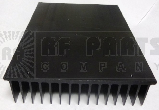"HSBLK8 Heatsink, Black Anodized Aluminum, 6.5"" x 8.75"""
