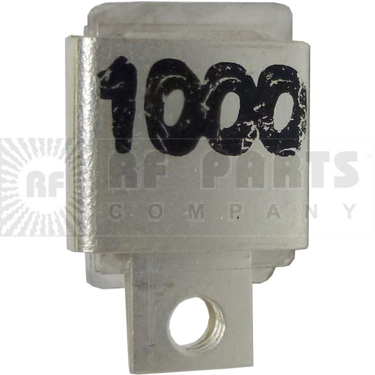 J101-1000 Metal Cased Mica Capacitor, 1000pf