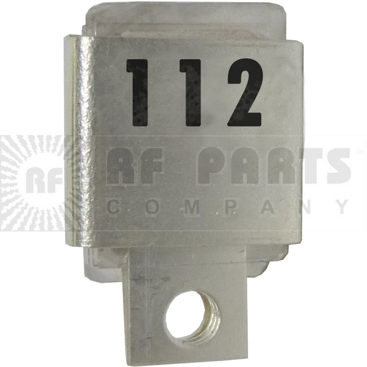 J101-112  Metal Cased Mica Capacitor, 112pf