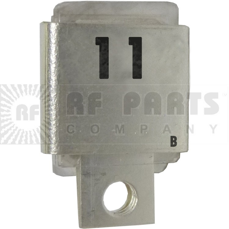 J101-11B  Metal Cased Mica Capacitor, 11pf