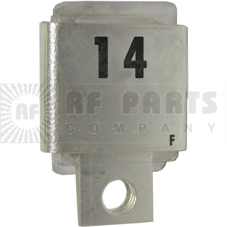J101-14F  Metal Cased Mica Capacitor, 14pf
