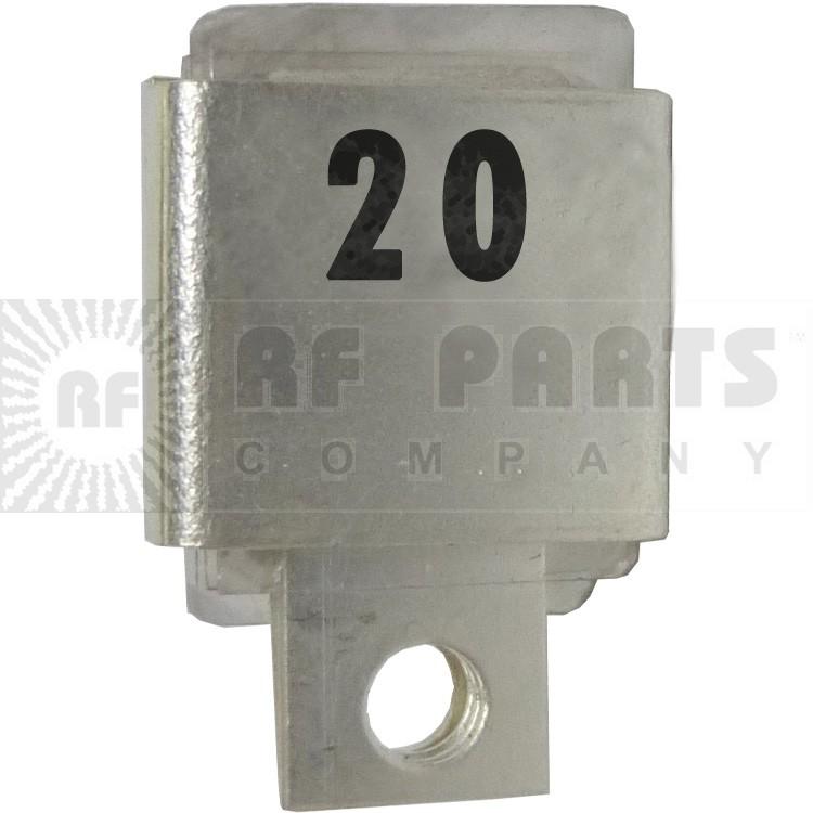 J101-20  Metal Cased Mica Capacitor, 20pf