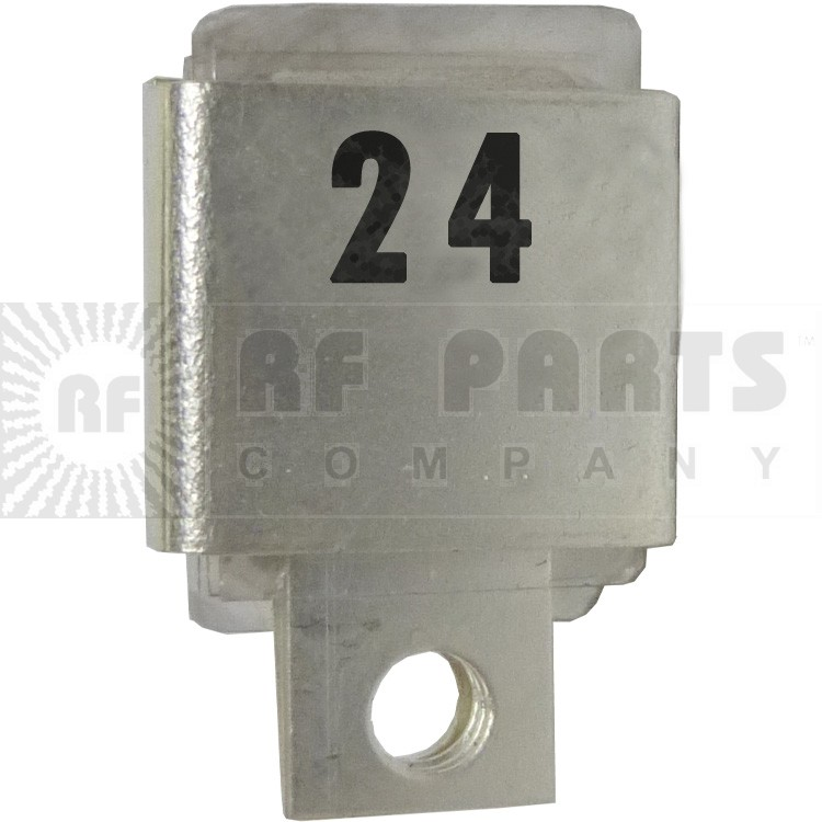 J101-24 Metal Cased Mica Capacitor, 24pf