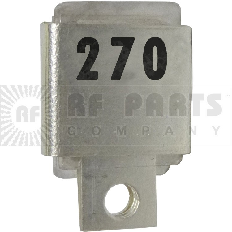 J101-270 Metal Cased Mica Capacitor, 270pf