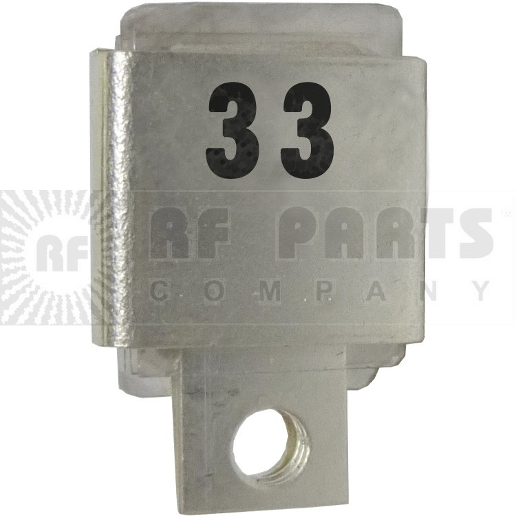 J101-33  Metal Cased Mica Capacitor, 33pf