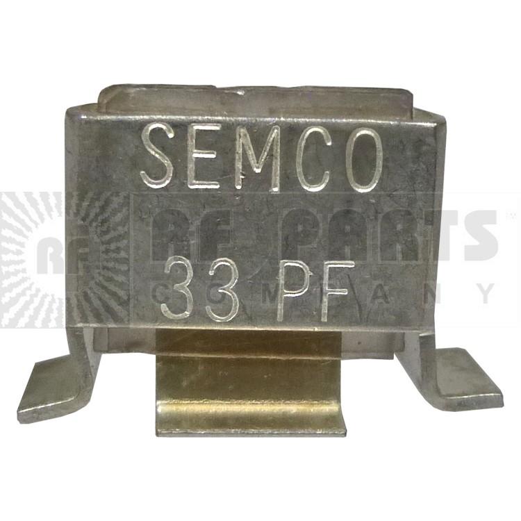 J101-33-C  Metal Cased Mica Capacitor, 33pf