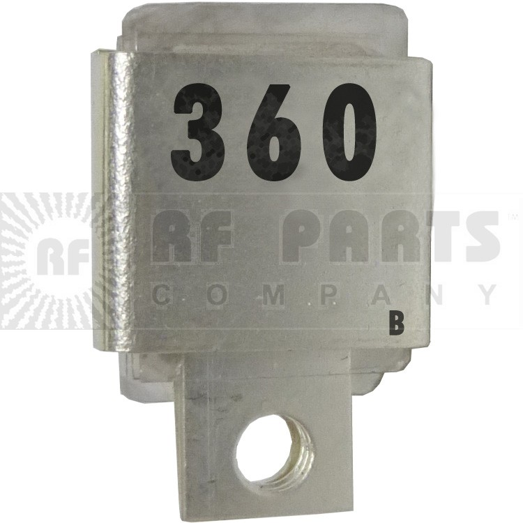 J101-360B  Metal Cased Mica Capacitor, 360pf