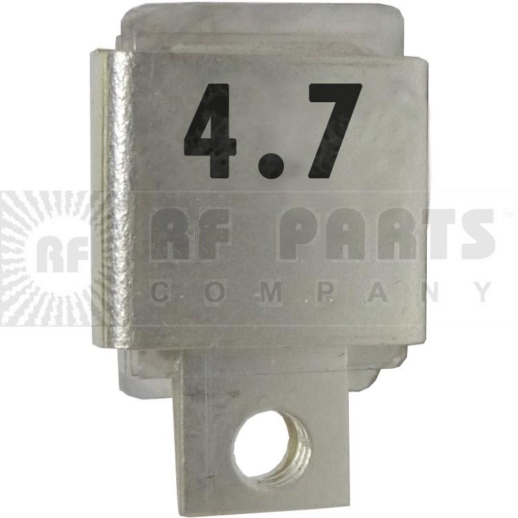 J101-4.7  Metal Cased Mica Capacitor, 4.7pf