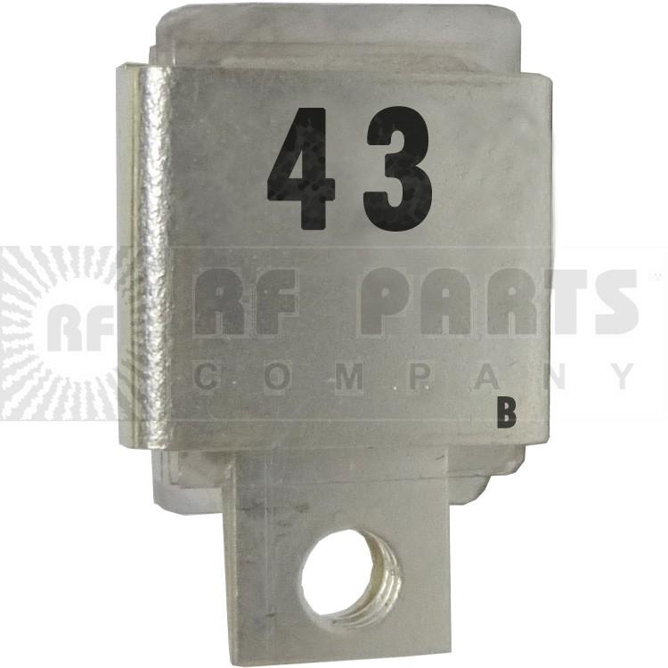 J101-43-B  Metal Cased Mica Capacitor, 43pf
