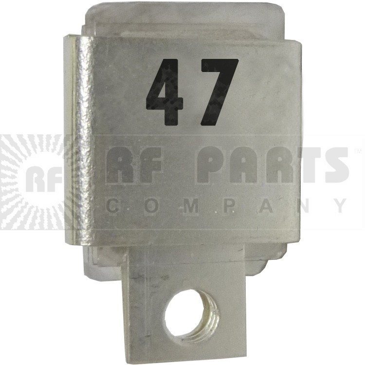 J101-47  Metal Cased Mica Capacitor, 47pf