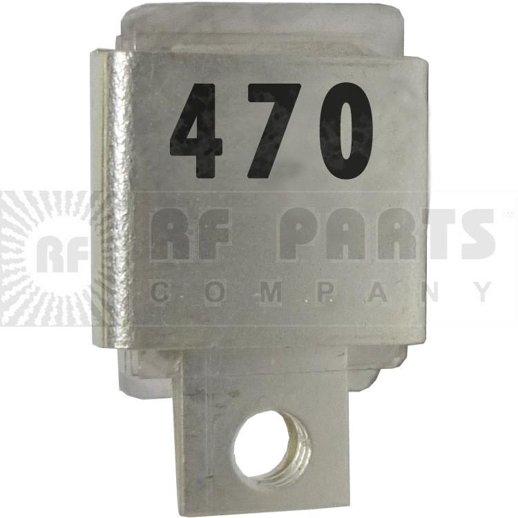 J101-470  Metal Cased Mica Capacitor, 470pf