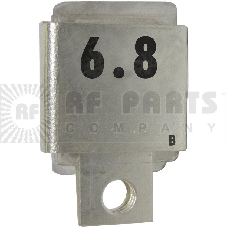 J101-6.8B  Metal Cased Mica Capacitor, 6.8pf