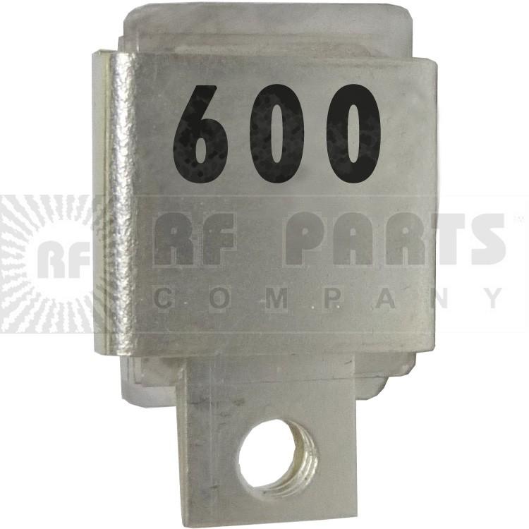 J101-600  Metal Cased Mica Capacitor, 600pf