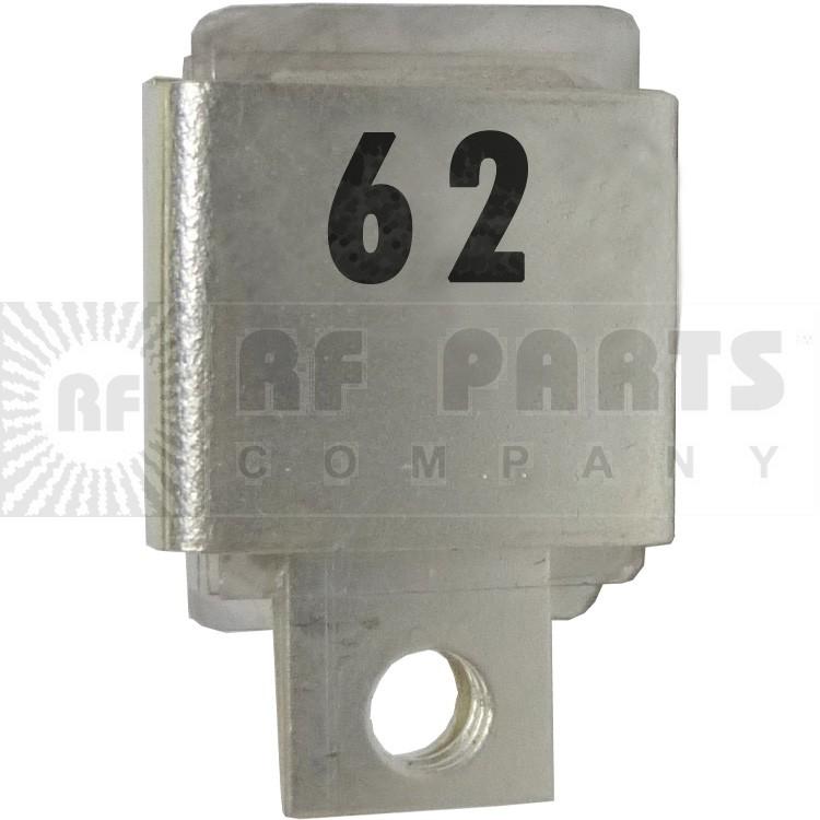 J101-62  Metal Cased Mica Capacitor, 62pf