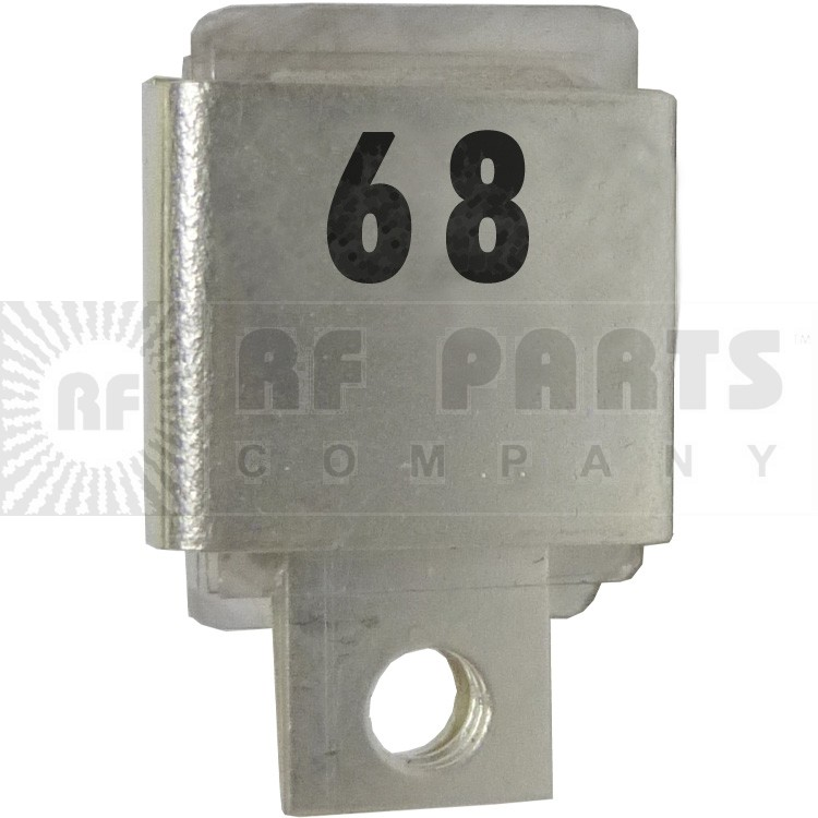 J101-68 Metal Cased Mica Capacitor, 68pf