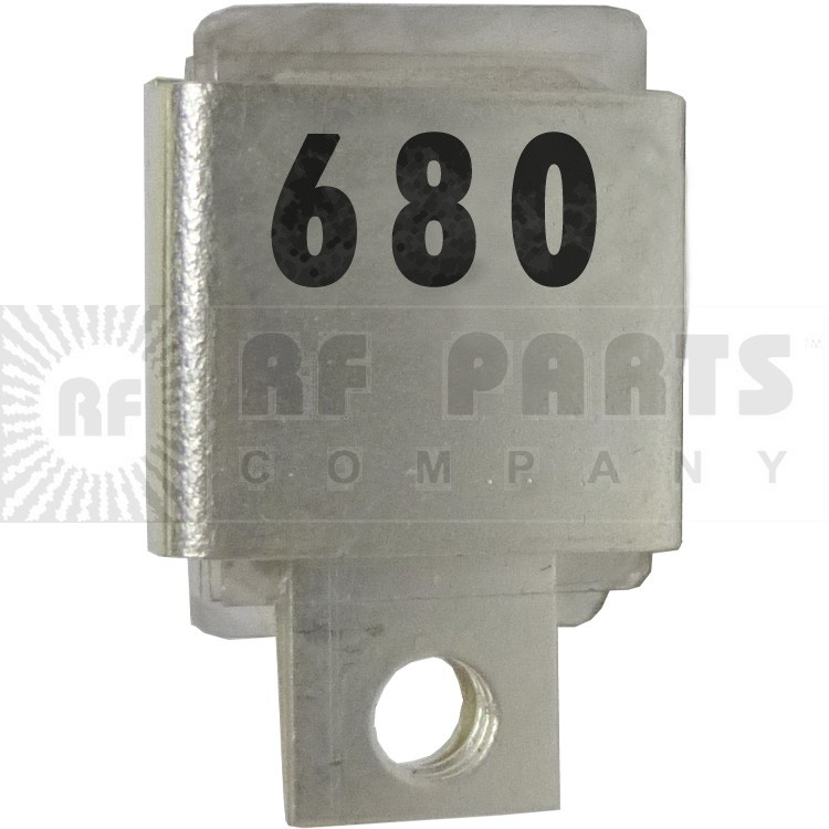 J101-680  Metal Cased Mica Capacitor, 680pf