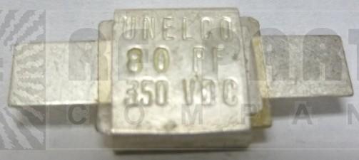 J101-80-D  Metal Cased Mica Capacitor, 80pf