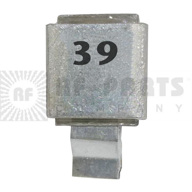 J602-39 Metal Cased Mica Capacitor 39pf