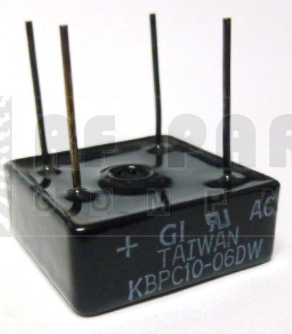 KBPC10-06DW Bridge Rectifier, 10a 600v