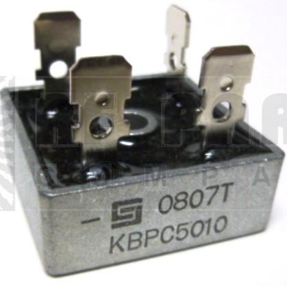 KBPC5010-SSI Bridge Rectifier, 50 amp 1kv, SSI