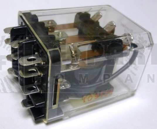 KUMP-14D18-110; Relay, 3pdt, 15 a, enclosed Coil: 110 vdc, 10k ohms,