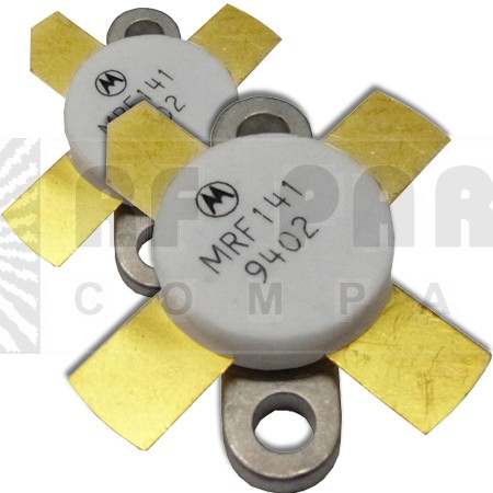 MRF141MP-MOT Transistor, Matched Pair, RF Power FET, 150W, 175MHz, 28V, Motorola