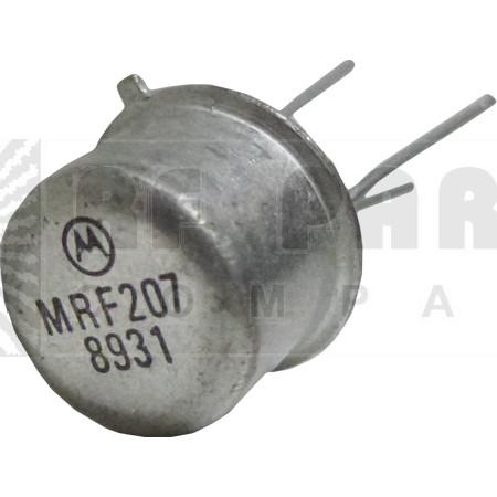 MRF207 Transistor, 12 volt, Motorola