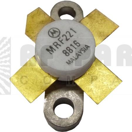 MRF221 NPN Silicon RF Power Transister, 12.5 V, 175 MHz, 15 W, Motorola