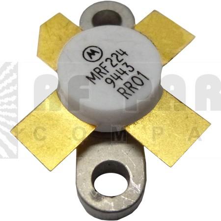 MRF224 NPN Silicon RF Power Transister, 12.5 V, 175 MHz, 40 W (Tested), Motorola