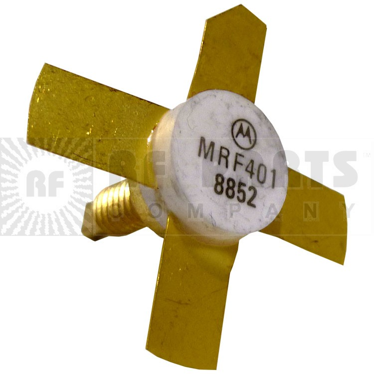 MRF401 NPN Silicon RF Power Transistor, 25 W (PEP), 30 MHz, 28 V, Motorola