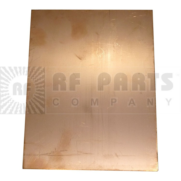 "PC24X12  Copper Board, single Sided 24"" x 12"""